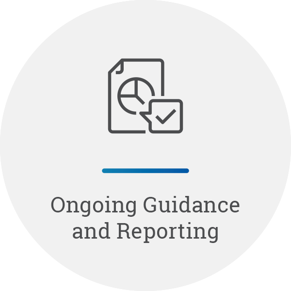 Ongoing Guidance and Reporting